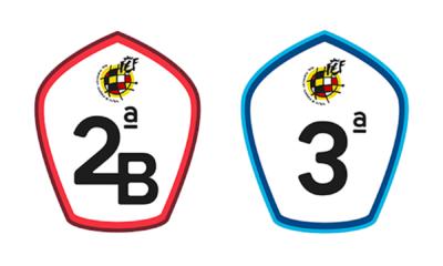 escudos de 2b y tercera división